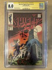 Nick Fury, Agent of SHIELD #3 Signed By Jim Steranko CGC 8.0 [Signature Series]