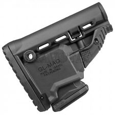 Fab Defense GL-MAG Stock Collapsible Magazine-Carrier Survival 10rd Clip - Black