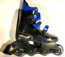 Inline Skates Blades by California Pro Txt 500 Wheels: 70mm 85A Womens 7. Nice