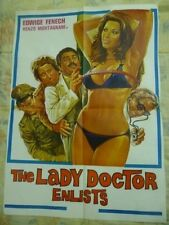 THE LADY DOCTOR ENLISTS  1977 SEX  original  asian cinema poster