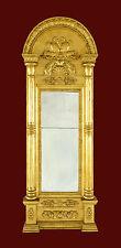 SPIEGEL EMPIRE - Bedeutender Wandspiegel 134 x 52 cm  UM 1820 Biedermeier