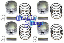 77-80 KAWASAKI KZ650 0.5mm  OVERSIZE PISTONS SET 62.50mm 10-KZ650APS-1