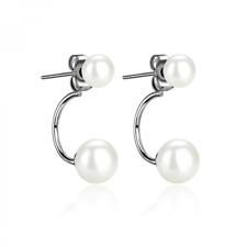 Pearl Drop Earrings by Philip Jones
