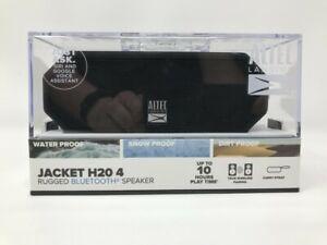 BRAND NEW Altec Lansing Jacket H20 4 Portable Bluetooth Speaker Black FREE SHIP