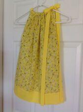 Kids clothing Toddler Girls Pillowcase Summer Dress. Handmade size 18 Months