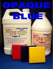 EPOXY RESIN OPAQUE BLUE GEL COAT REPAIR CASTING FIBERGLASSING COATING 1.5GAL!