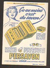 """Buvard SAVON """"PERSAVON"""" Produit LESIEUR"""