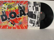 D.O.A. true north strong and free LP 10 track vinyl LP NM