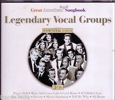 Essential Gold Legendary Vocal Groups 3CD Classic 50s 60s Country Sons Pioneers