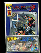 VAMPI WIZARD 1/2 EDITION W/COA & WIZARD HOLDER(9.2)(NM-)LIMITED-MAILORDER ONLY