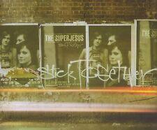 THE SUPERJESUS - STICK TOGETHER CD SINGLE 3 TRACKS 2003 ENHANCED CD