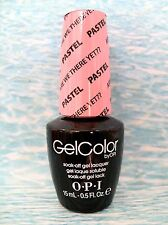 OPI GELCOLOR GC 105 Pastel ARE WE THERE YET? ~ THE PASTELS Gel Color Polish *NEW