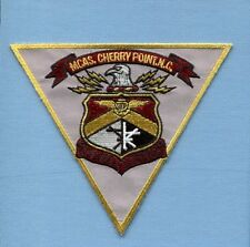 MCAS MARINE CORPS AIR STATION CHERRY POINT USMC Squadron Base Jacket Patch