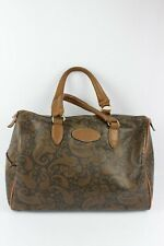 Texier Vintage Bag Leather Synthetic Brown Worn Hand Good Condition