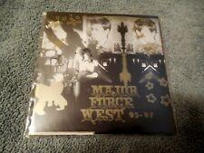 Major Force West 93-97 CD Mo Wax MWR105 Abstract Hip Hop Funk UK