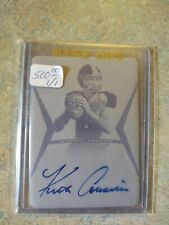 2012 Football Kirk Cousins Rookie On Card Autograph 1 of 1 #1/1 Vikings Auto 🔥