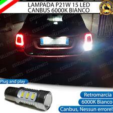 LAMPADA RETROMARCIA 15 LED P21W BA15S CANBUS FIAT 500X 6000K NO ERROR