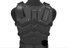 Molle Tactical Hunting Combat G.I.J Body Vest Body Protector Black