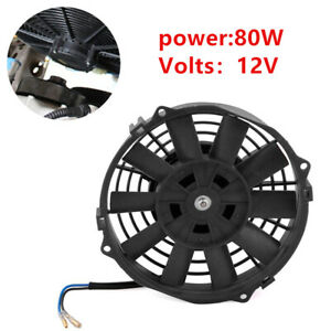 80W  7 Inch 12V Electric Radiator Cooling Fan Kit for Universal Car Auto Engines