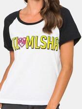 Metal Mulisha CREATURE Womens Scoop Neck T-Shirt Small White Black NEW