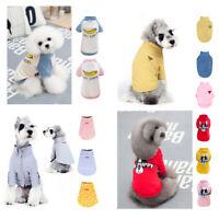 Summer Various Pet Puppy Small Dog Cat Pet Clothes Vest T Shirt Apparel 4 Types