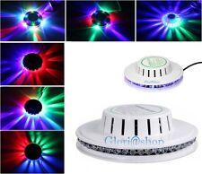 DISCO LAMPADA 48 LED RGB EFFETTI LUCE A COLORI DA DISCOTECA CASA LUCI NATALIZIE