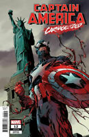 Captain America #12 Carnage-ized Variant Marvel Comic 1st Print 2019 unread NM