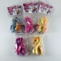 Lot of 5 MLP My Little Pony Friendship Is Magic Figures Brand New 3""