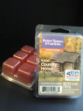2 PACKS ScentSationals RUSTIC COUNTRY HOME Scented Wax Cubes & FREE Shipping!