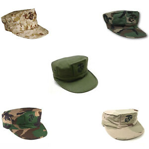 Marine Corps 8-Point Covers - USMC Utility Hats - Military Issue - MADE IN USA