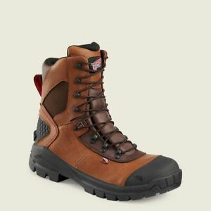 "NEW Red Wing CRV 8"" Waterproof Safety Soft Toe Boot 438 Men's Size 10.5 2E Width"