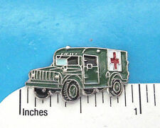 Militar 3/4 Ton Ambulancia - Pin de Sombrero, Alfiler, Pin de Solapa, Cordón Tac