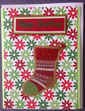 1 Hand made Xmas Card. Happy Christmas. Postage $2 for 1 to 6 cards
