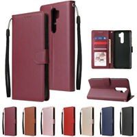 Slim Wallet Leather Flip Case Cover For Xiaomi Redmi Note 9S Note 8 Note 7 8A 7A