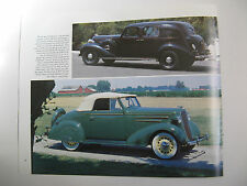 BUICK LIMITED MODEL 90-LX 1936 CHEVROLET CABRIOLET CONVERIBLE MAGAZINE PRINT AD