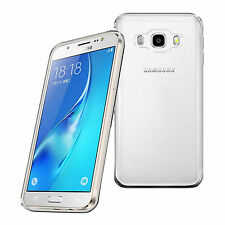 For Samsung Galaxy J5 2016 Clear Gel Case Cover and Glass Screen Protector