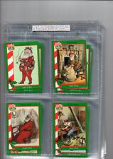 trade cards santa around the world 1995 full set