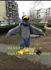 Grey Falcon Mascot Halloween Costume Cartoon Character Cosplay Dress Carnival