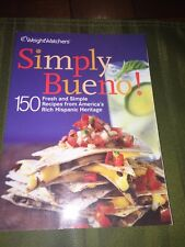 Weight Watchers SIMPLY BUENO book Cookbook diet cooking Mexican recipes Points