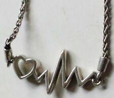 Sterling Silver Heartbeat Bracelet by Kay Jewelers