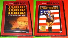 TORA TORA TORA + PATTON - English Español - DVD R2 - Precintada