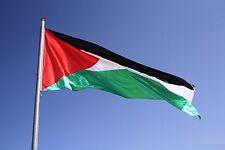 Large Palestine Flag Polyester 150 x 90cm Free Gaza Palestinian Festival decor
