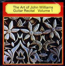 John Williams - The Art Of John Williams Guitar Recital, Vol. 1 (NEW SEALED CD)