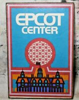 """Details about  /11/"""" SPACESHIP EARTH Epcot Disney sign pop ART Wood Vtg style Sign"""