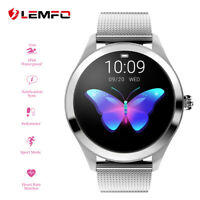 LEMFO KW10 Montre femme ladies smartwatch Étanche heart rate monitor Android iOS