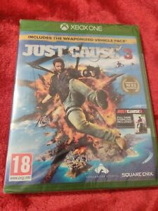 JUST CAUSE 3 XBOX ONE - DAY ONE EDITION - BRAND NEW SEALED + JUST CAUSE 2 D/L