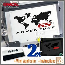 2x GS ADVENTURE Black/Red BMW F650 R1150 R1200 GS ADESIVI PEGATINA STICKERS