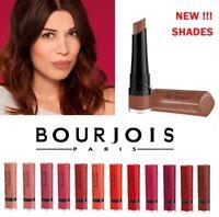 Bourjois Rouge Velvet The Lipstick 2.4g Matte Finish Effect Various Shades