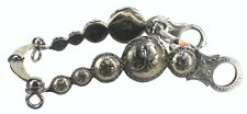 """D.A. Brand 7"""" Stainless Steel and Engraved German Silver Parade Bit Horse Tack"""