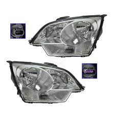 Headlights Headlamps Left & Right Pair Set for Saturn Vue Chevy Captiva Sport